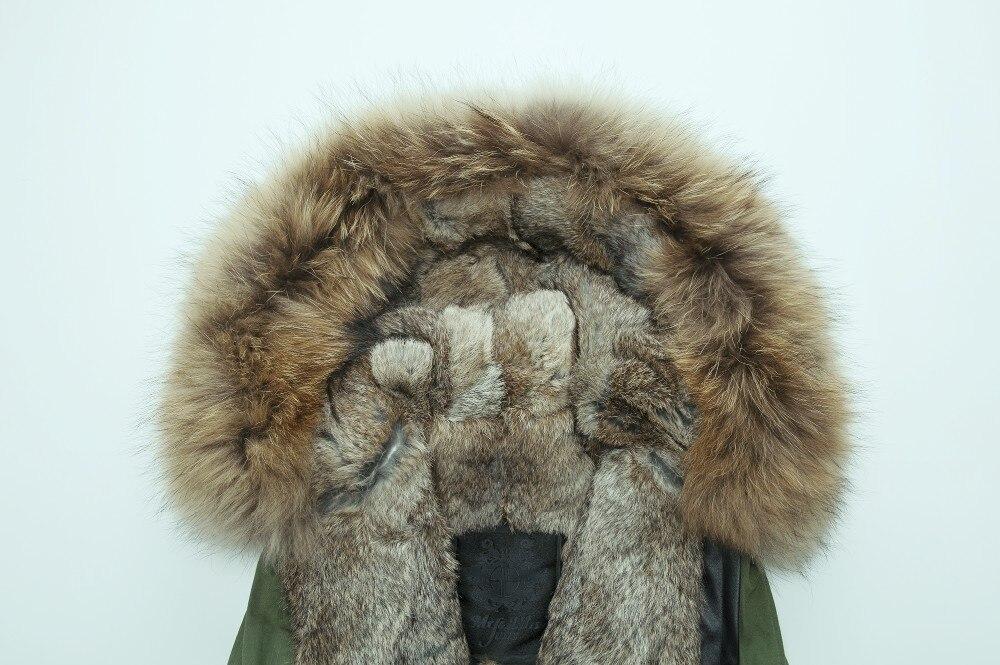 Новая куртка с капюшоном с лисой Женская Длинная шерстяная верхняя одежда теплая дешевая Меховая куртка