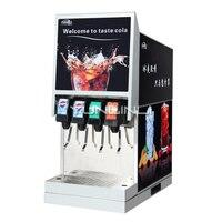 220V Commercial Drinks Dispenser Sodas Machine Carbonate Beverage Equipment With Low Noise IKLJ 4B4