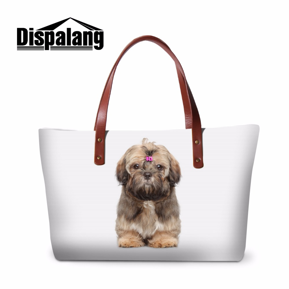 Dispalang Cute Pet Portable Women Hand Bag Tote Brands Bags For Lady Cats And Dogs Beach Bags Girls Messenger Bag Mummy Package
