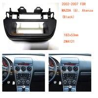 Car Radio Fascia multimedia Frame Kit For Mazda(6) Atenza 2002 2007 Facia panel Trim Dash CD