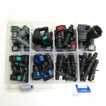 Высокое качество один комплект sae топлива, трубы фитинги Авто Топливопровод быстрый разъем комплект целый набор всего 40 шт. для автомобиля