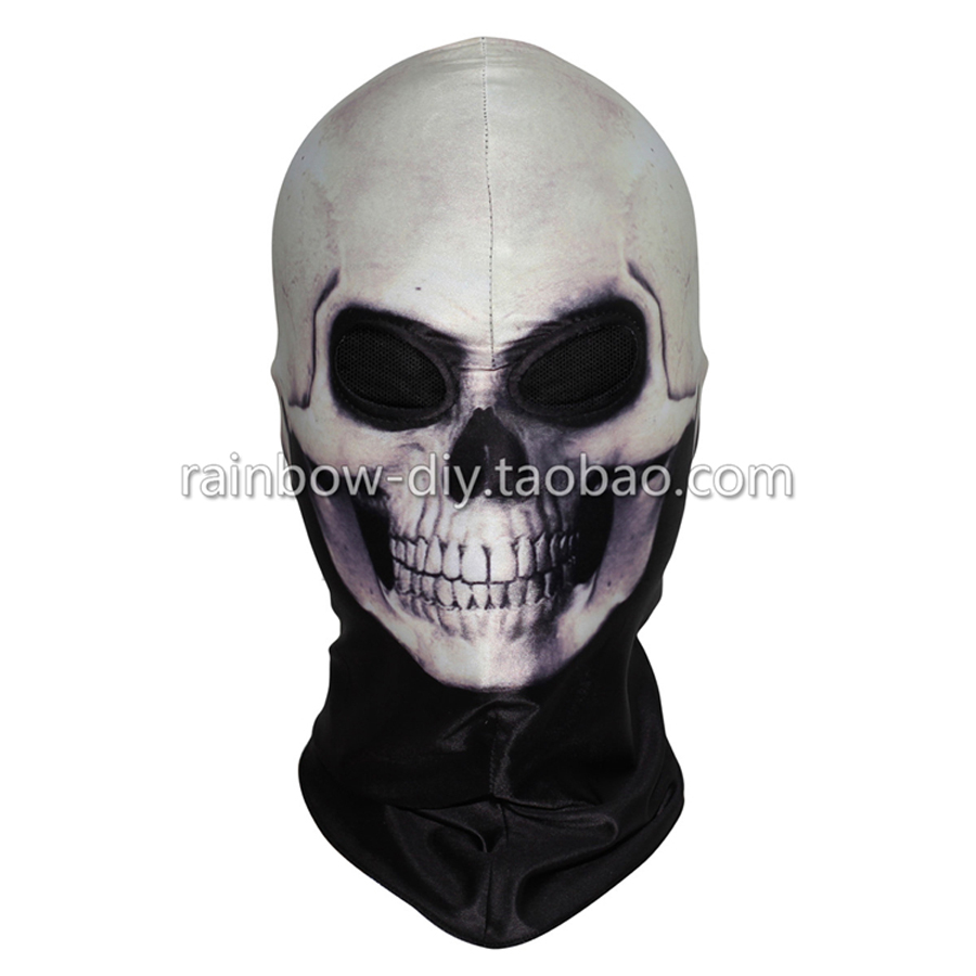 Hero Catcher  High Quality New Ghost Face Mask Ghost Cosplay Mask Halloween Mask #2
