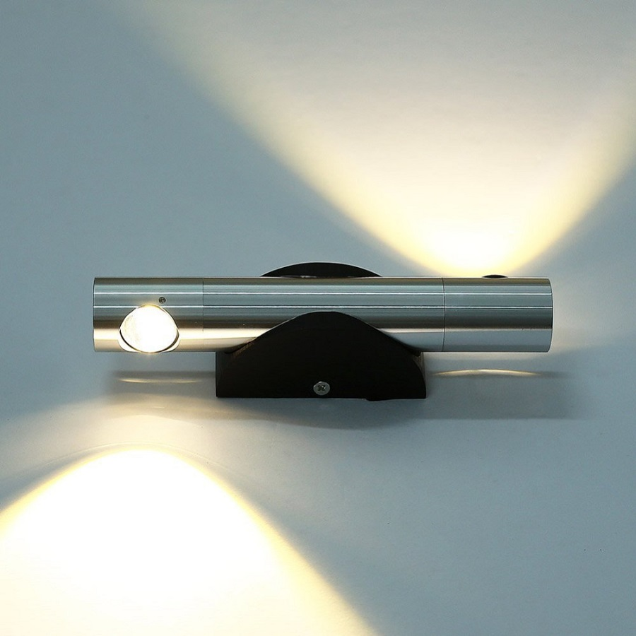 360 degrés rotatif led appliques murales 2 w salon chambre led intérieur mur lampe éclairage à