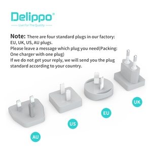 Image 5 - Delippo UL المدرجة 65 واط USB C شاحن PD و QC 3.0 USB 3 في 1 السفر الجدار شاحن متوافق آيفون اللوحي المحمول وأكثر من ذلك