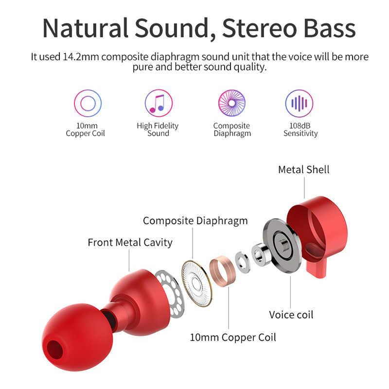 Langsdom BX9 bezprzewodowe słuchawki z pałąkiem na kark sport audifonos słuchawki Bluetooth auriculares 12h muzyka Bluetooth słuchawki do telefonu