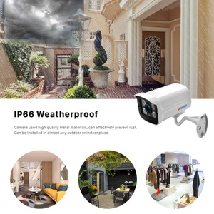 Image 3 - BESDER Aluminum Metal Waterproof Outdoor Bullet IP Camera 720P 960P 1080P Security Camera CCTV 4PCS ARRAY IR LED ONVIF Camera IP