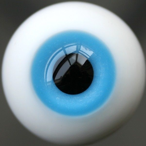 [wamami] Y07# 12mm Sky Blue Eyes For BJD Doll Dollfie Glass Eyes Outfit