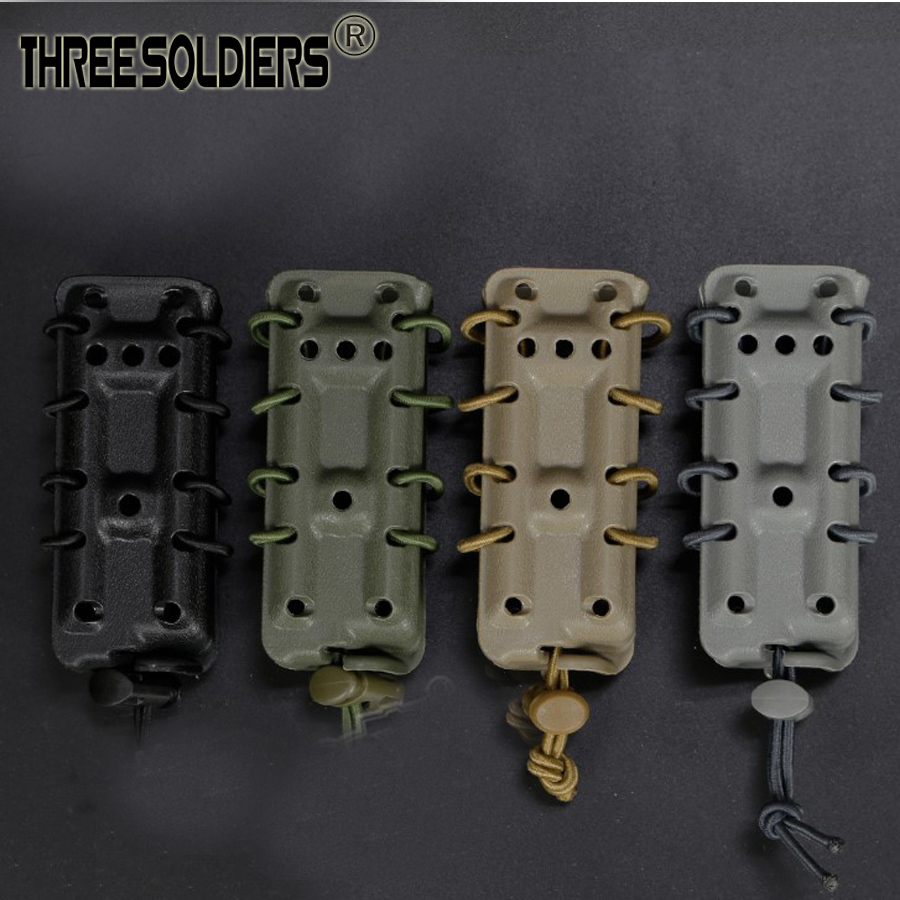 9mm Tactical Magazine Belt or molle system Pouch Pistol Fast mag Military Ambidextrous Modular Quick Module Scorpion Airsoft