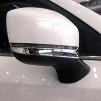 Bottom Or Upper Abs Chrome Side Rearview Mirror Cover Trim Stripe For Mazda Cx 9 Cx9 2016 2017 2018 Accessories Car Sticker 2pcs