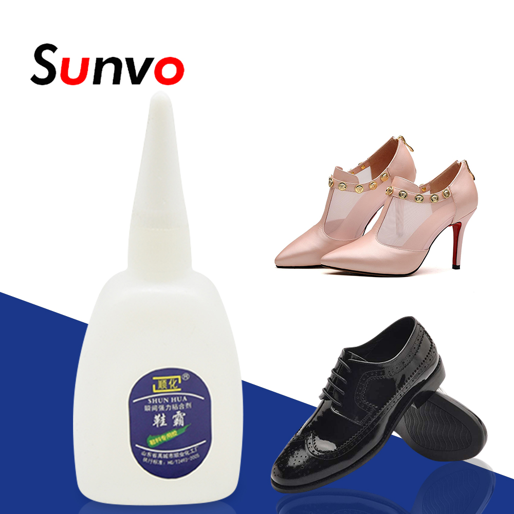 Sunvo Shoe Waterproof Glue Strong Super Glue Liquid   Special Adhesive For Shoes Repair Universal Shoes Adhesive Care  Tool