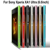 For XA1 Ultra High Quality Ultra Thin Slim Aluminum Metal Bumper Frame Case For Sony Xperia