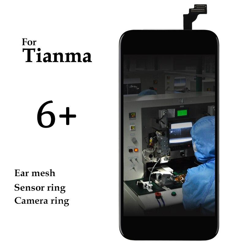 Premium Version 5pcs Smartphone Repair Spare Parts For iPhone 6 Plus LCD Display Tianma High Screen