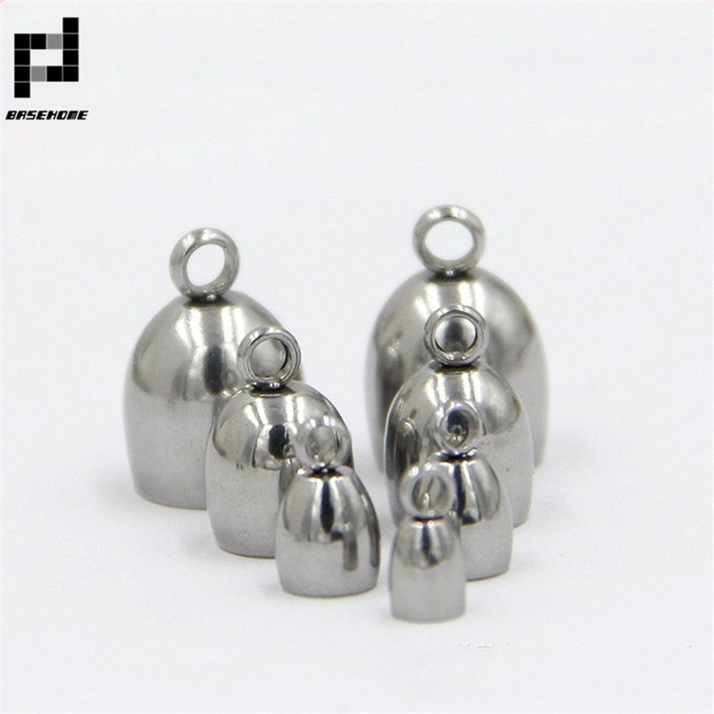Round Magnetic Clasps Silver Brass 8x11.5mm  2 Pcs Findings Jewellery Making