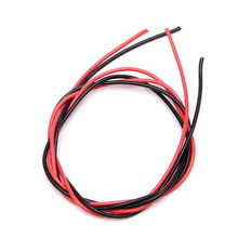 New 16 AWG 2m Gauge Silicone Wire Flexible Stranded Copper Cables for RC Black Red