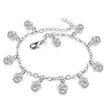 Повелительница браслеты. Прекрасные браслеты женщина твердые 925 silver. Серебряная корона подвеска ножные браслеты. Стерлингового Серебра девушка ювелирные изделия