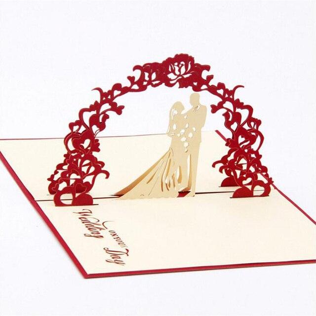 3D Papier Skulptur Handwerk Einladungskarte Hochzeit Grußkarte Geburtstag  Liebhaber Geschenke 20 Stücke (kann Mischen Farben