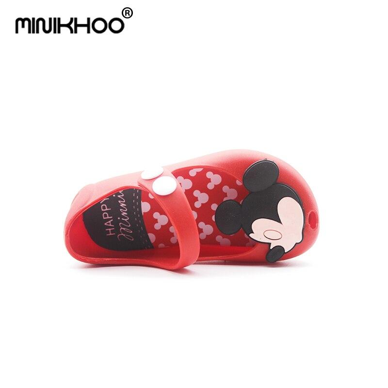 Mini Melissa Nowy 2018 Wysokiej Jakości Mini Dziewczyny Mickey - Obuwie dziecięce - Zdjęcie 5