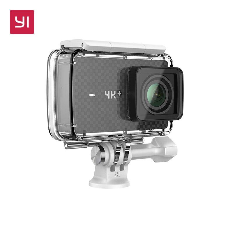 YI 4K+(Plus) Action Camera Waterproof Case Set International Edition FIRST 4K/60fps Amba H2 SOC Cortex-A53 2.2LDC RAM EIS WIFI проц amd soc a