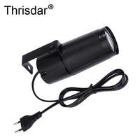 Thrisdar 5PCS Mini LED Bean Pinspot Spotlight Effect Stage Light 5W DJ Disco Party Pinspot Lamp