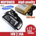 Mdpower para Samsung LCD adaptador de alimentación de ca PN3014 14 V 2.14A entrega de línea