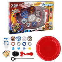Free Shipping 4pcs Set Beyblade Arena Spinning Top Metal Fight Byblade Metal Fusion Children Gifts Classic