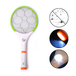 Hand Mosquito Killer Racket Bug Zapper Pest Control With LED Lighting Rechargeable Useful Anti Mosquito Shoot Drop shipping