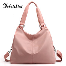 nylon cloth women bag over ladies hand bags eco Shopper Tote shopping large lady shoulder reusable for 2019