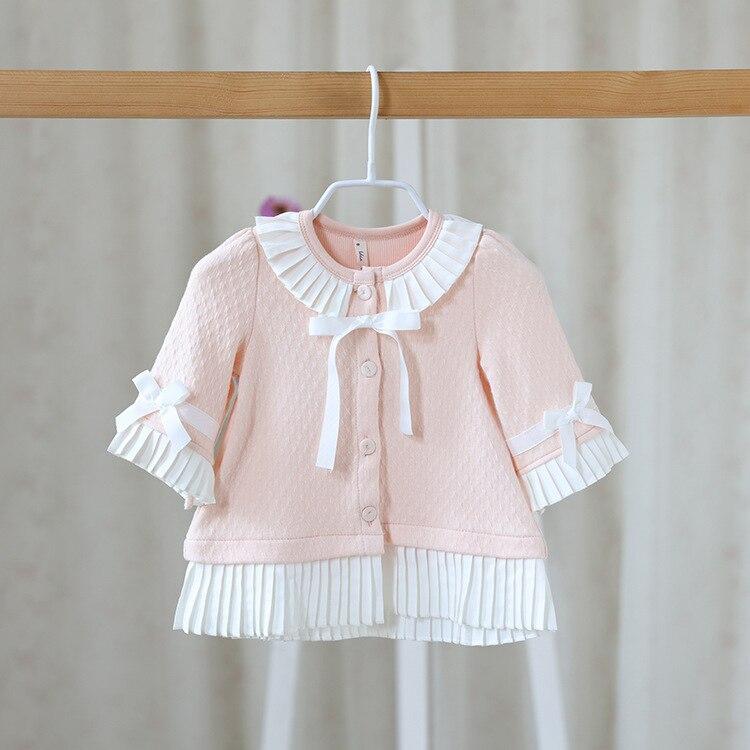 Free shipping 2016 autumn font b baby b font girls cute tops toddler kids font b