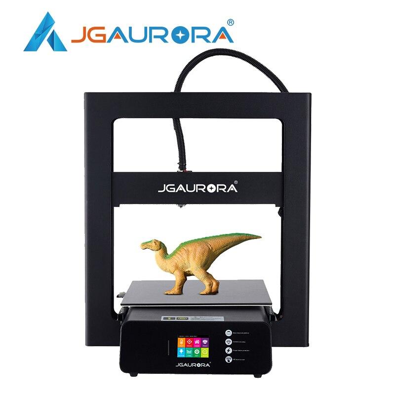 JGAURORA A5S 3d Printer Big Print Size 305X305X320mm Color Touch Display Resume Print Filament Runs Out