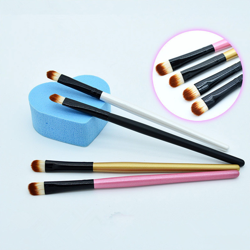 New Super Soft Professional Oblique Makeup Eyebrow Brush Eyeshadow Blending Angled Brush Comestic Make Up Tool HZS001