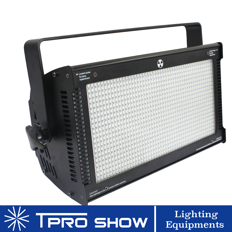 1000W LED Strobo Light RGB Color Atomic Disco Strobe Lights Dmx 512 Music Activated DJ Lighting Stroboscope Speed Adjustable|Stage Lighting Effect| |  - title=