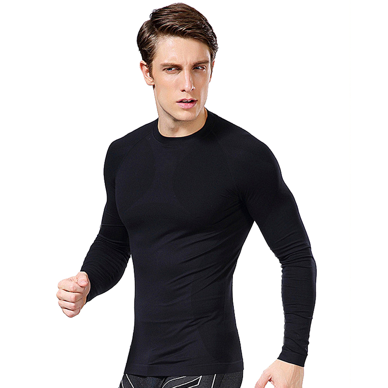 Hot Fitness Slimming Fit Male Vest / T-shirt Men Work Out Muscle Bodybuilding Compression Tights Exercise Crossfit Brand Clothes