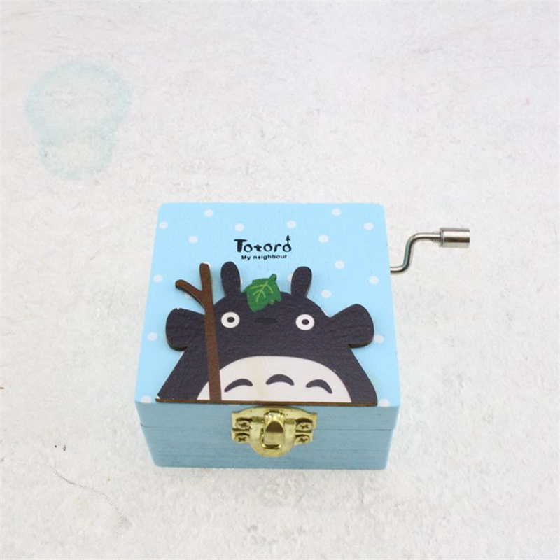 Totoro Music box manual cosplay character props costume birthday gift christmas gift children props anime unisex gift