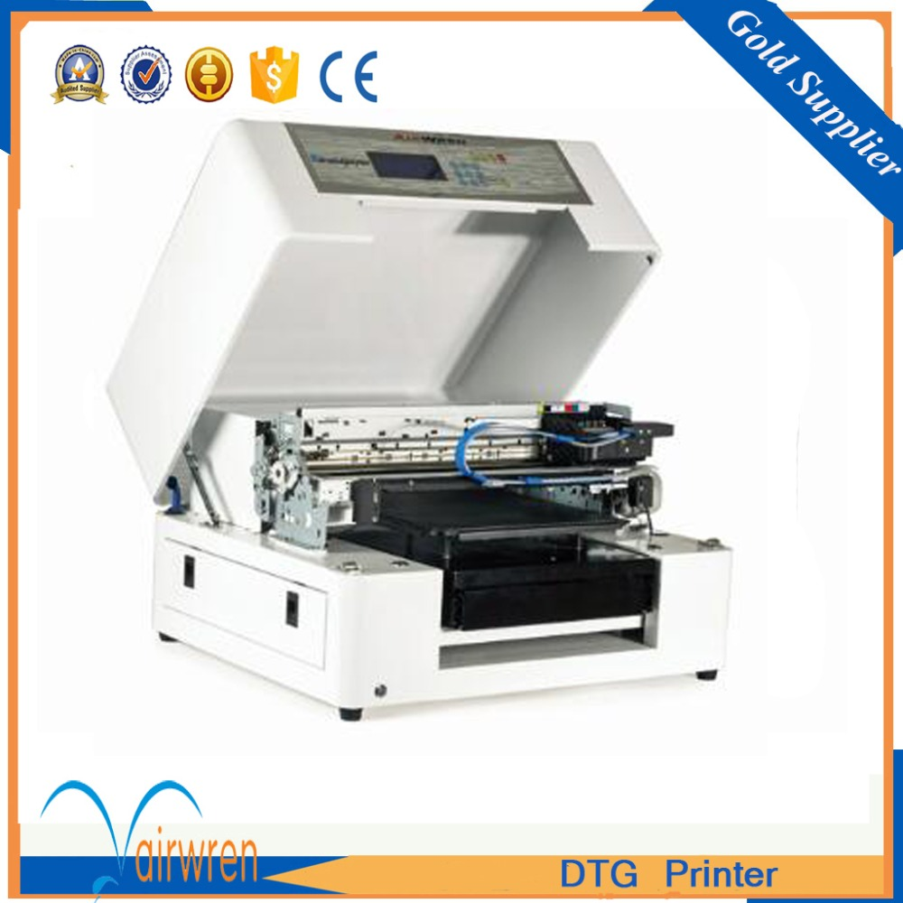 High performance dtg printer custom t shirt printing a3 T shirt printing china