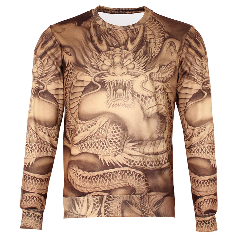 New-2016-Autumn-Men-Slim-Hoodies-Add-Wool-3D-Printed-Sweatshirts-Bomb-Animal-Printed-Coat-Casual (4)
