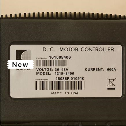 CURTIS PMC 1219 8406 36V 48V 600A SERIES MOTOR CONTROLLERS FOR ELECTRIC FORKLIFT STACKER PALLET GOLF SIGHTSEEING CARS