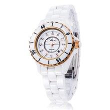 цены Fashion Relogio Feminino Top Brand Luxury WAYA Women Watches Water Resistant Wrist Watch Ceramic Band Drop-Shipping