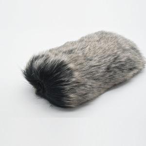 Image 3 - Microphone Windshield Windscreen Muff for RODE VideoMic Go and Takstar SGC 598 MIC 01 DeadCat Go Artificial Fur Wind Shield
