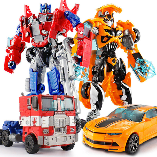 jinjiang Top 19.5cm Model Transformation Robot Car Plastic