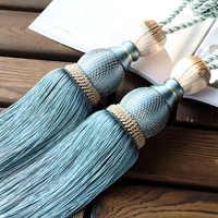 Rideaux glands embrasses crochets Pour rideaux balle de Tennis Pour porte-rideau décoration Pour Salon pendentif accessoires CP063-30