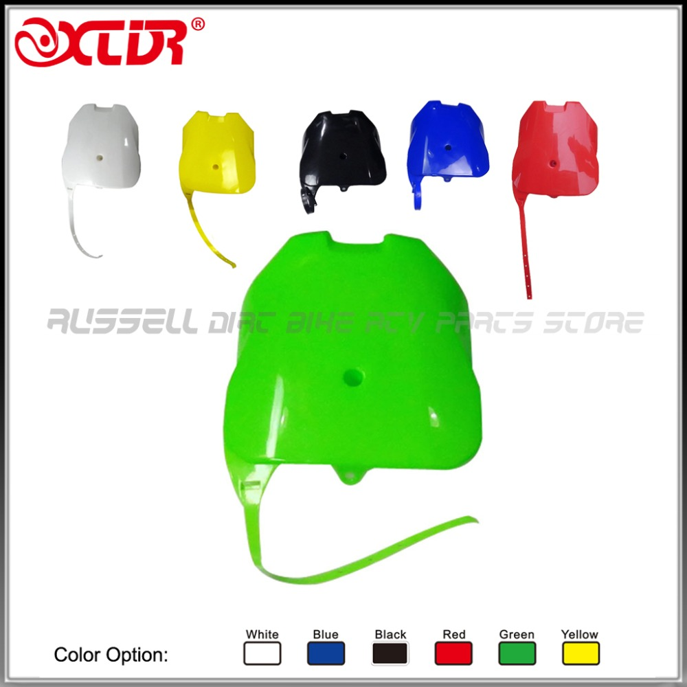 FRONT Plastic Number Plate Fender Cover Fairing for HONDA  CRF100 CRF80 CRF70 XR100 XR80 XR70 Style Dirt Pit Bike front plastic number plate fender cover fairing for honda crf100 crf80 crf70 xr100 xr80 xr70 style dirt pit bike