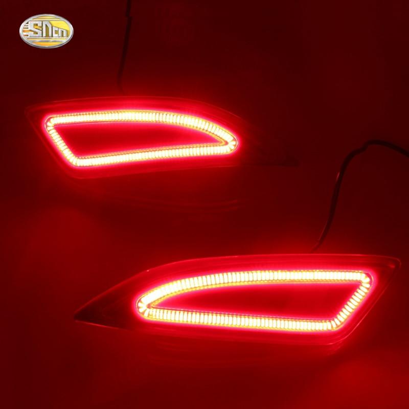 Светодиодные задние фары для Тойота Камри 2015 2016 из светодиодов стоп-сигналы задний бампер фонарь поворота светового сигнала