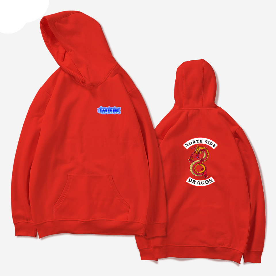 Good Grade 2019 Riverdale Spring Hit Tv Plays Women Sweatshirts Hoodies Funny Harajuku Casual Hoodie Men/women Printing Clothes Hoodies & Sweatshirts