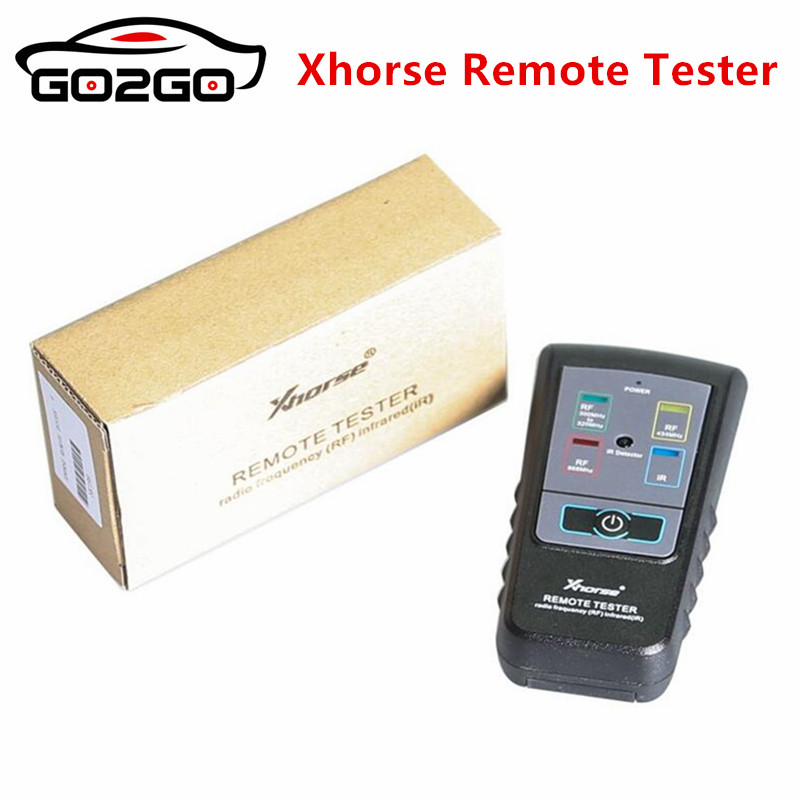 Hot Sale 100% Original Xhorse Remote Tester for Radio Frequency Infrared RF IR Remote Tester For 300Mhz 320hz 434Mhz 868Mhz-in Auto Key Programmers from Automobiles & Motorcycles