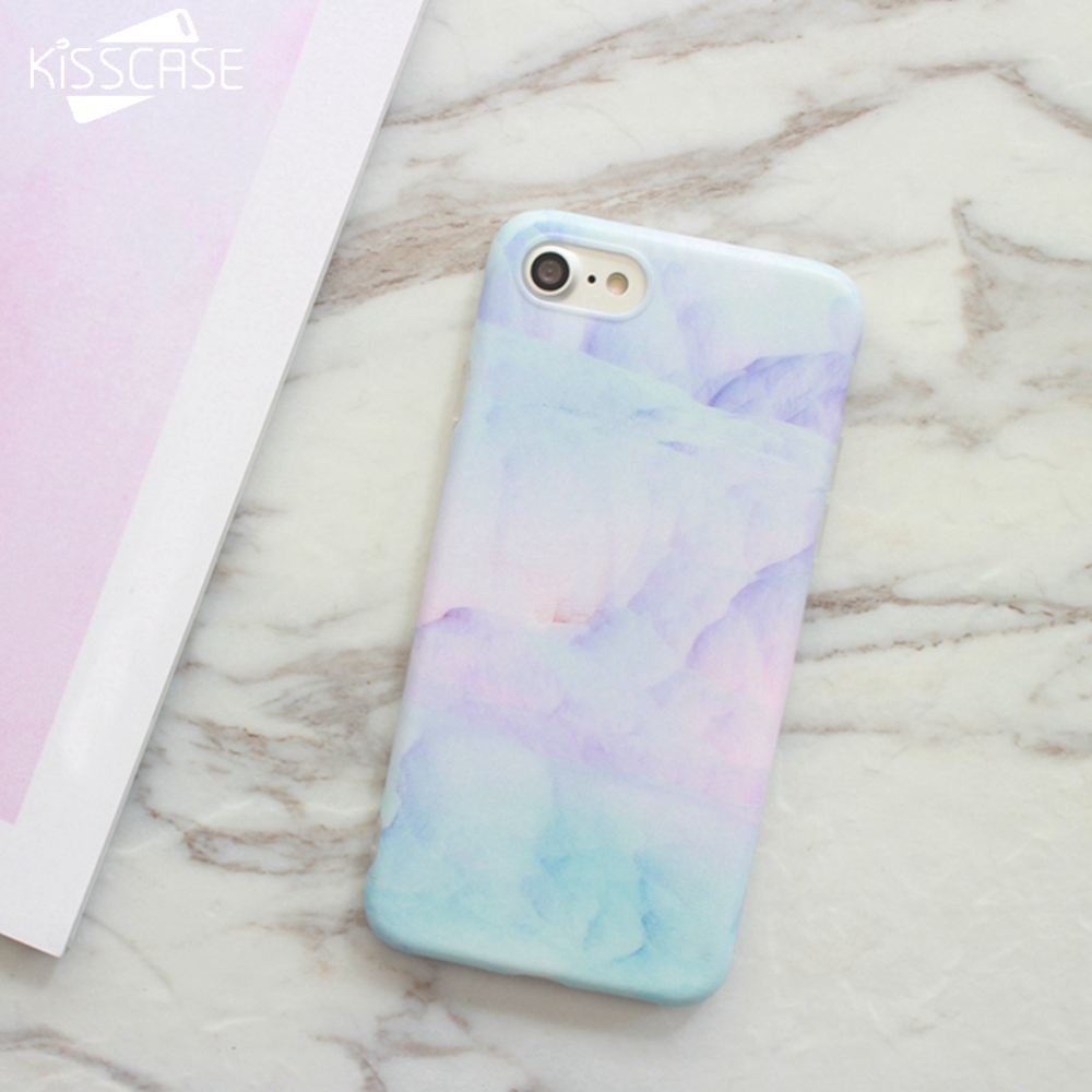 Phone 7 Iphone Pink Plus Cases Cute Marble