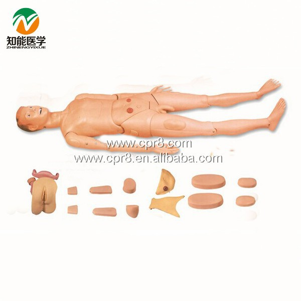 Full Function Nursing Manikin (Male) BIX-H130A WBW124 bix h2400 advanced full function nursing training manikin with blood pressure measure w194