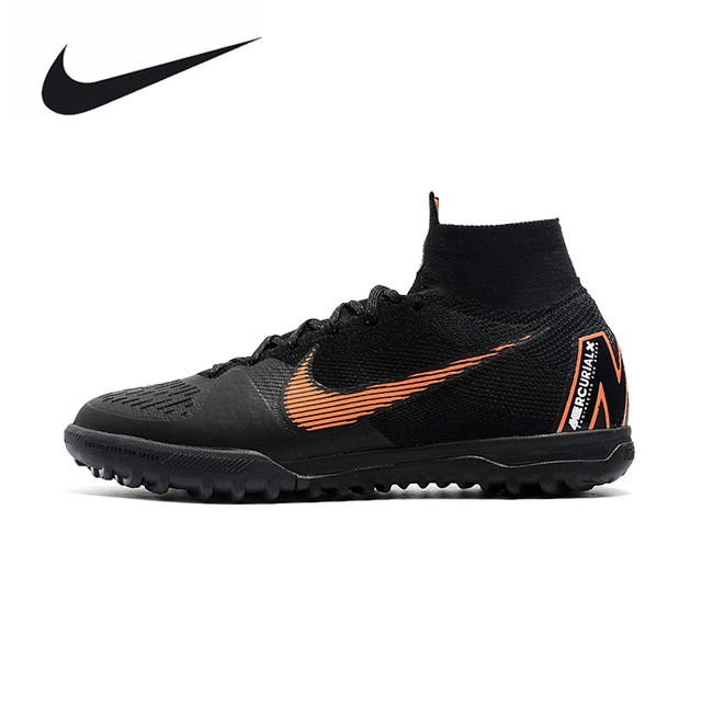 435a7d9c5 NIKE SUPERFLYX6 ELITE TF Men Outdoor Firm Ground Football Boots Durable  Ankle Top Soccer Cleats AH7374-810 39-45