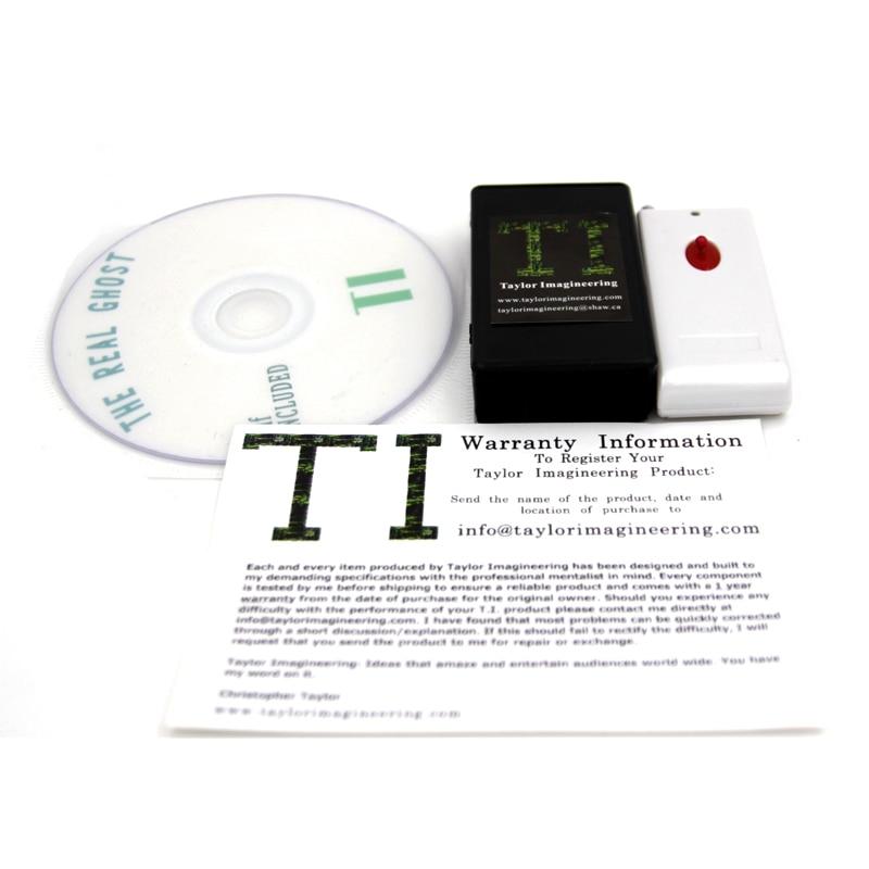 1 set Le Vrai Fantôme 2.0 (Gimmick + DVD) tours de magie mentalisme stade fermer accessoires de magie illusions comédie mentalisme rue