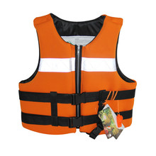 Adult buoyant clothing professional foam fishing suit with thick portable vest and non life jacket