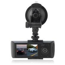 2.7Inch 16: 9 HD TFT LCD Vehicle Car DVR Video Recorder Dash Cam G-Sensor GPS 140Degree View Angle Dual Len Camera Recorder